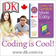 Coding is Cool for Kids with DK Books