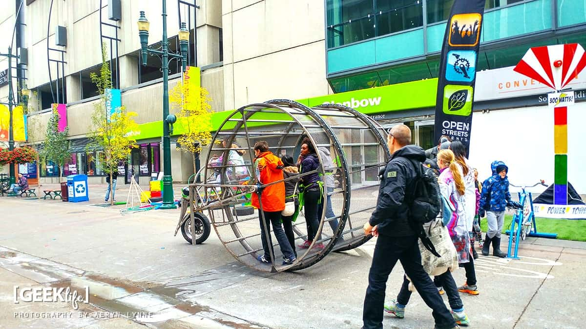 Calgary Beakerhead STEM Festival Hamster Wheel