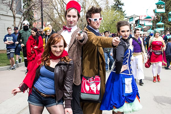 Calgary Geek events for travel